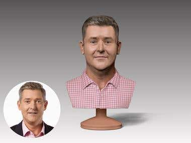 3d Face Busts for Printing