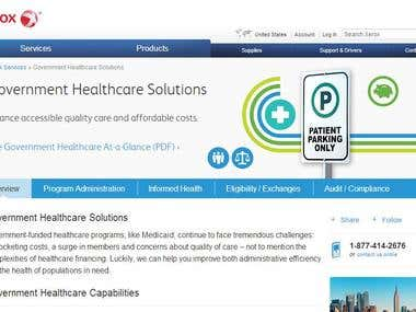 Government Healthcare Solutions Project