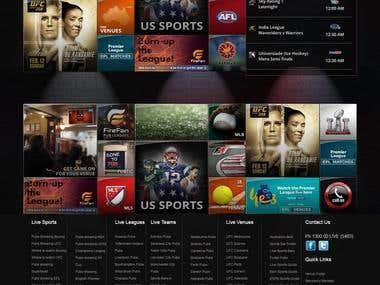 GAME ON - Sports Bar / Pubs Finder Website SEO Australia