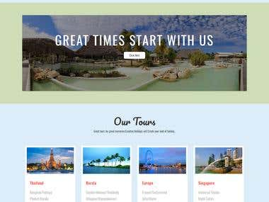 Regional World: Travel Company Site