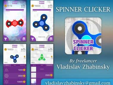 Spinner Clicker (Android game done in 5 days)