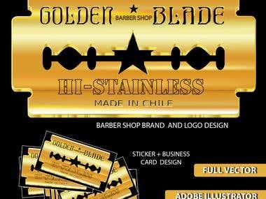 Barber Shop Brand & Logo Design