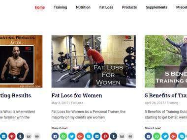 RD Fitness Blog - WordPress Blog