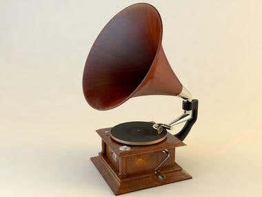 Gramophone Victor Victrola