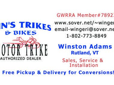 Win's Trikes and BIkes
