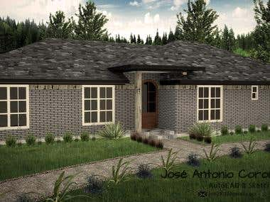Rendering Projects: Housing and Landscaping