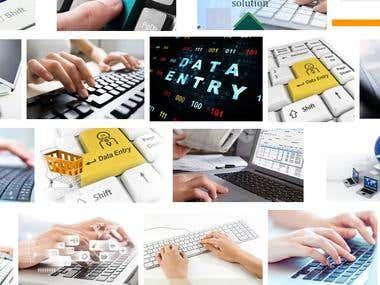 Data Entry, Data Scraping, Data Mining