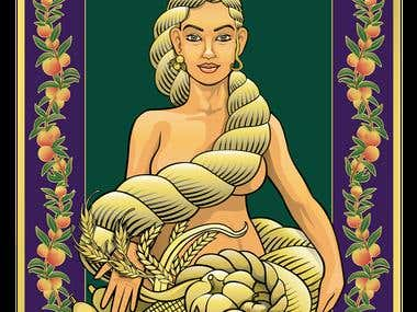 Habondia (Goddess of Harvest)