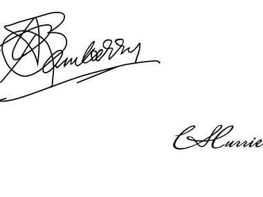 Signature design