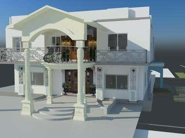 3ds max with vray exterioe rendering