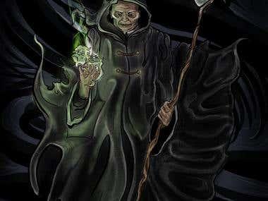 Mort Comic Book Cover Image