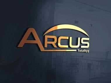 Arcus Company Logo Design