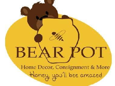 Bear Pot, Home Decor and Gifts