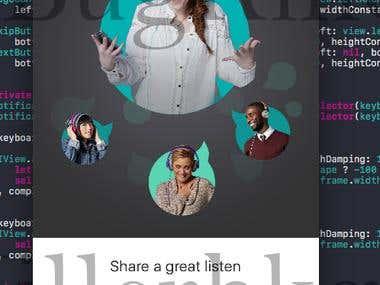 Audio Service App