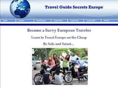 Website...Travel Guide Secrets Europe