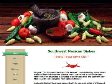 Old Southwest Mexican Chile Recipes Website