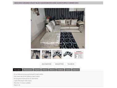eBay store & Listing Design