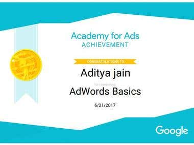 AD-WORDS BASIC CERTIFICATION