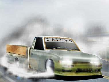 Datsun drift