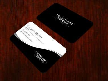 Creative unique professional corporate business card design