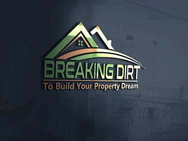 Breaking Dirt Logo Design