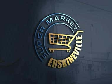 Super Market Logo Design