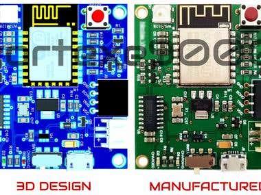 Embedded system baed on IOT (ESP8266)