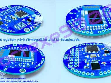 Embedded system with Atmega328