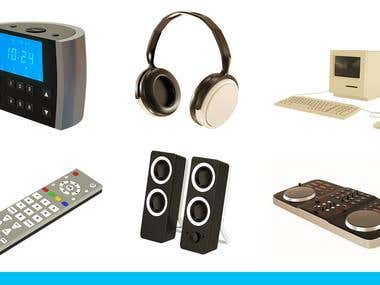 3D Electronic Items