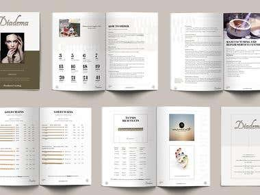 Minimalist Catalog design