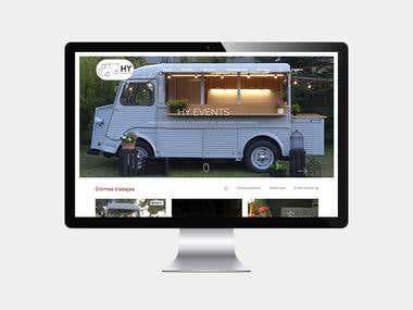 Web para foodtruck
