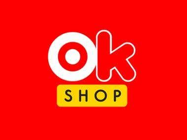 Logo Design: OkShop