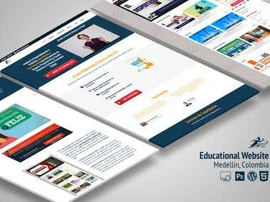 Website Design & Development: Educational Website