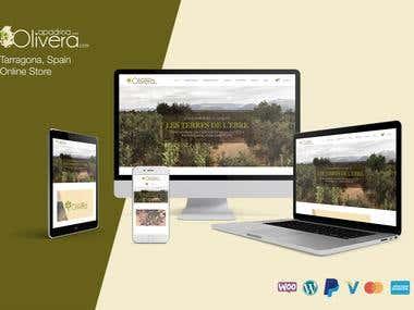 Website Design & Development: Online store