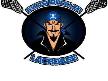 Swashbuckler Lacrosse- Logo Design