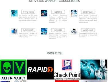 Diseño Web - WINXOFT CONSULTORES