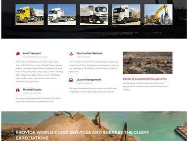 Bilal Transport Website