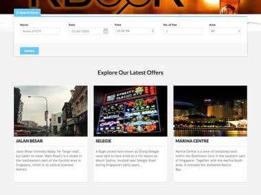 KBook CodeIgniter Website