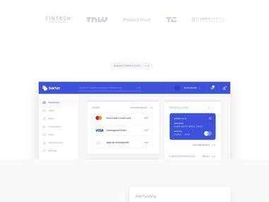 Credit Card Landing Page