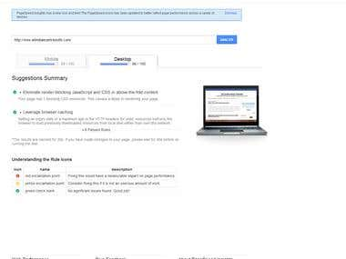PageSpeed Score 96+
