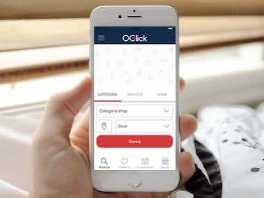 """OClick"" Mobile APP"