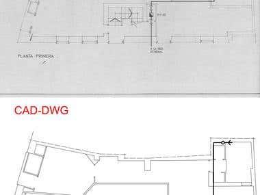 PDF TO DWG (CAD)