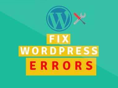 Fix wordpress / woo commerce and any website issues