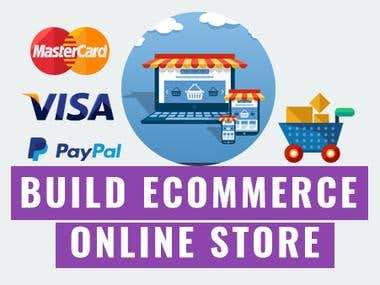 Build Ecommerce Online Store