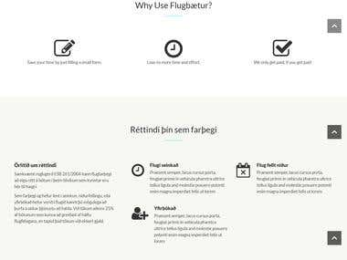 Flight Compensation Website