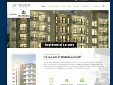 Residential Apartments Website