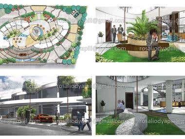 Landscape Design Office Project