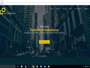 Twin Tech Solutions Website