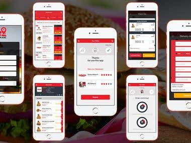 Food order app & delivery mobile app