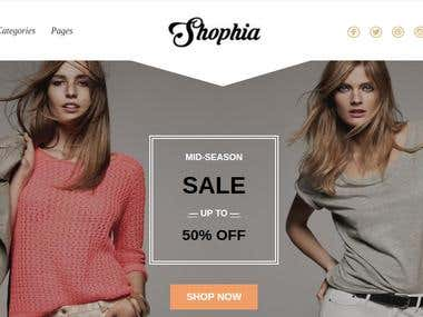 Shopia Fashion Store
